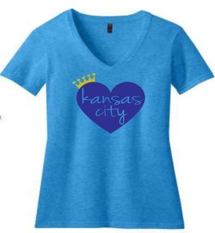 Heart Kansas City by WearItsATdesigns4 on Etsy