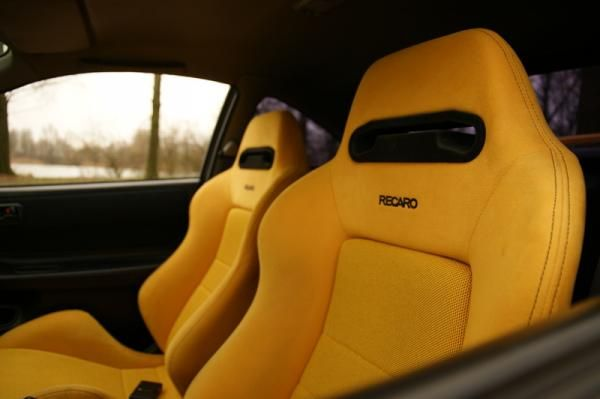 edm racing and yellow on pinterest honda recaro seat office