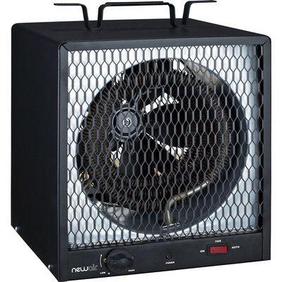 NewAir 5,600 Watt Fan Forced Compact Garage Space Heater G56