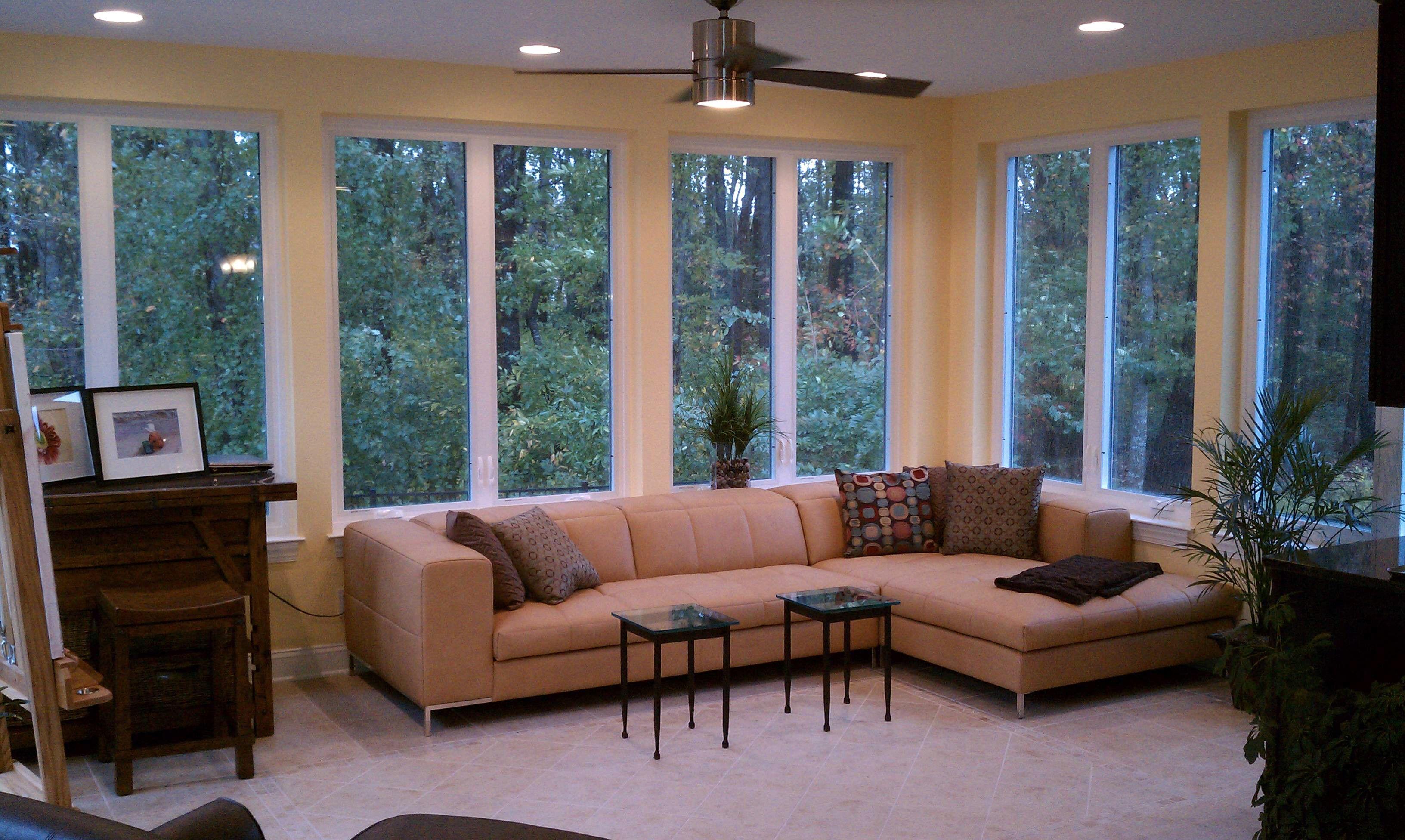 Beautiful Chic Sunroom Design Ideas Equipped Cheap ... on Cheap Patio Enclosure Ideas  id=54152