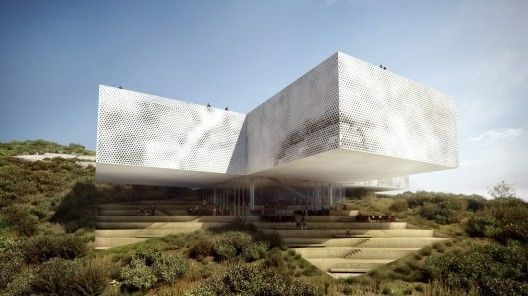 new tamayo museum overlooking mexico city - Modern Architecture Mexico