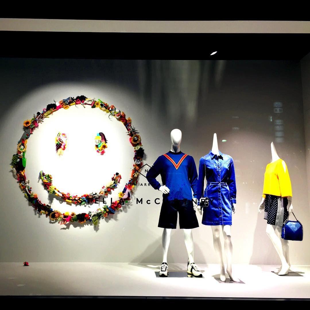 "BARNEY'S, Ginza, Tokyo, Japan, ""がこんな変貌をとげるなんて♡銀座のど真ん中で凛としててかっこいい。"", (Smile, it's Japanese), for Stella McCartney, pinned by Ton van der Veer"