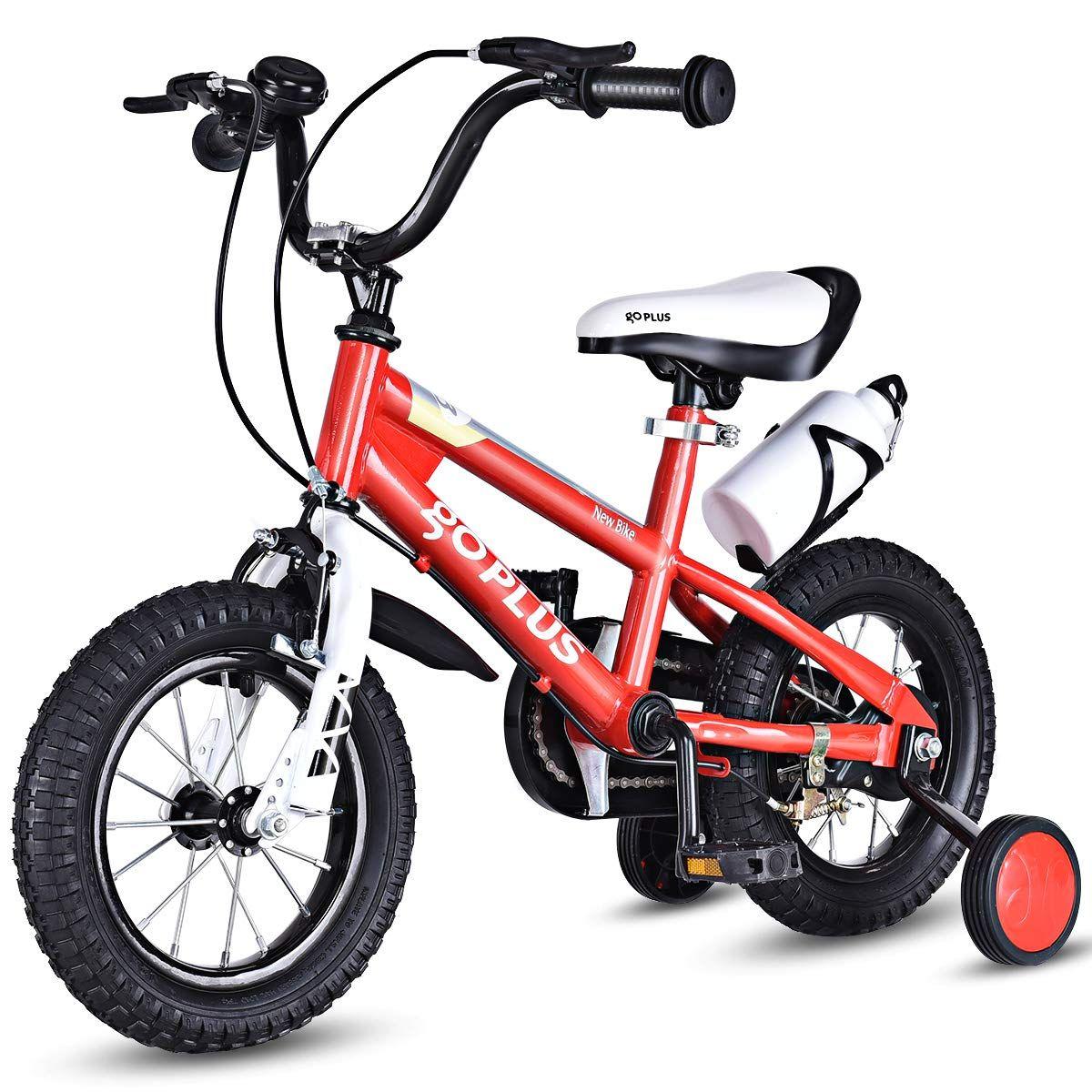 Goplus 12 16 Kids Training Wheel Balance Bike With Images