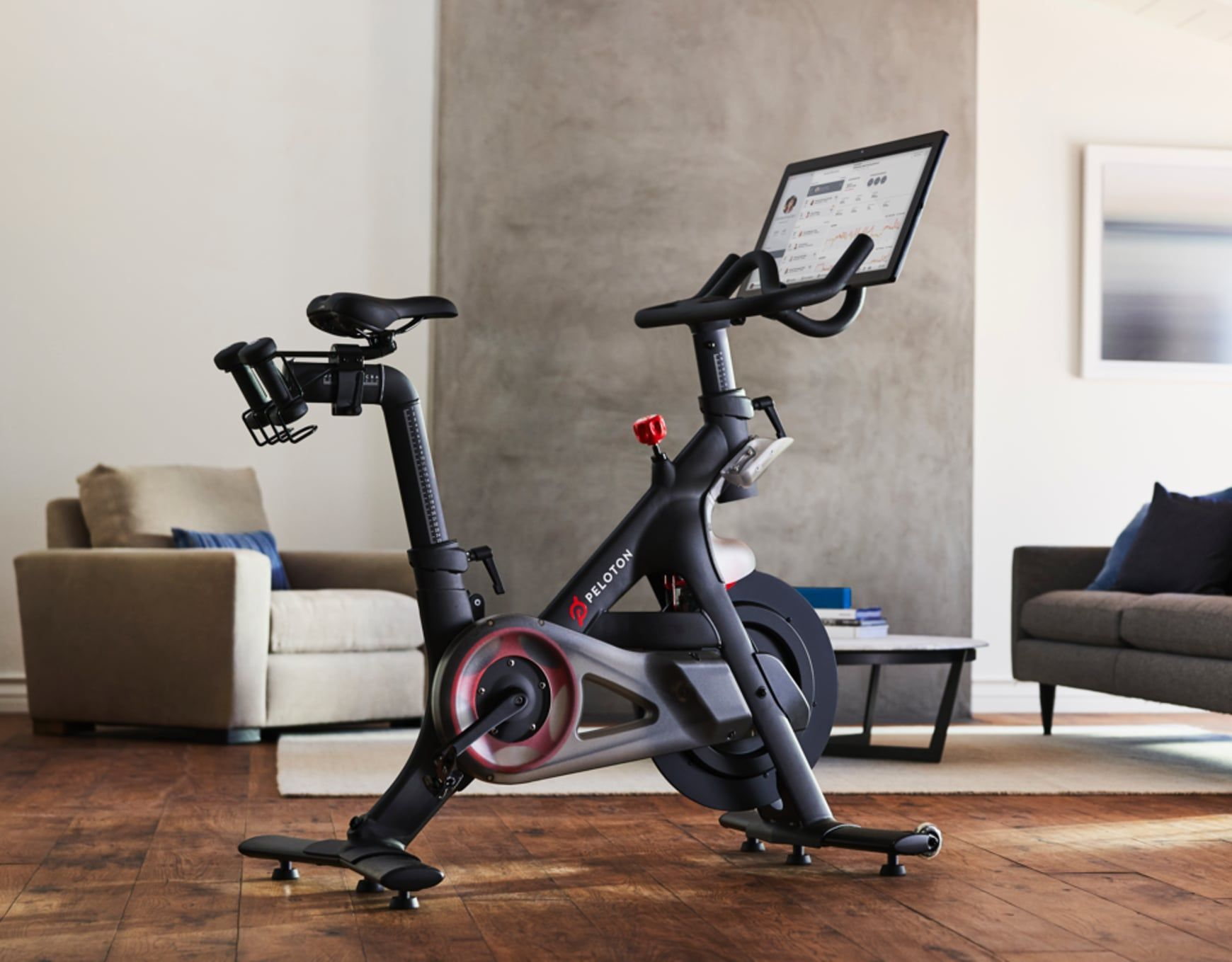 Peloton Indoor Exercise Bike With Online Streaming Classes