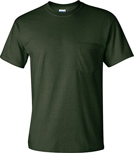 072e3653cfb2b Gildan Men's G230 6.1 oz Ultra Cotton Pocket T-Shirt Review | Men ...
