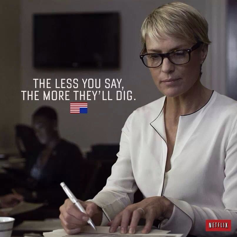 It S Hard Out There For Claire Underwood Claire Underwood