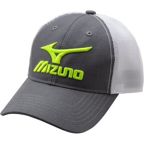 0ae0af02ac6 Mizuno Men s Low Profile Adjustable Hat Charcoal Yellow - Baseball Apparel