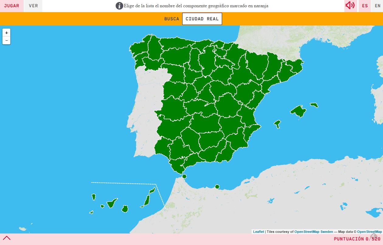 Ubica En El Mapa Cada Una De Las Provincias De España Por Las Que Te Va Preguntando Este Juego Inte Comunidades Autonomas De Espana Mapas Comunidades Autonomas