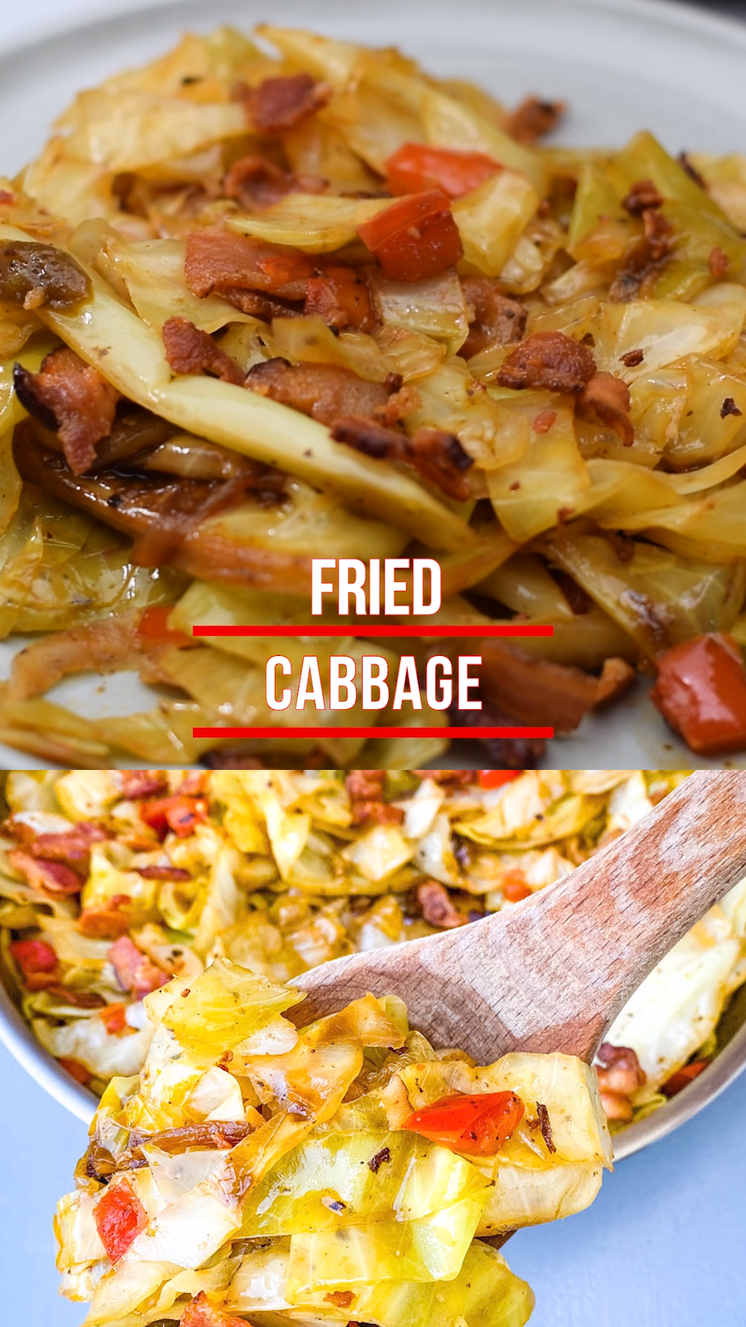 Easy Keto Low-Carb Southern Fried Cabbage