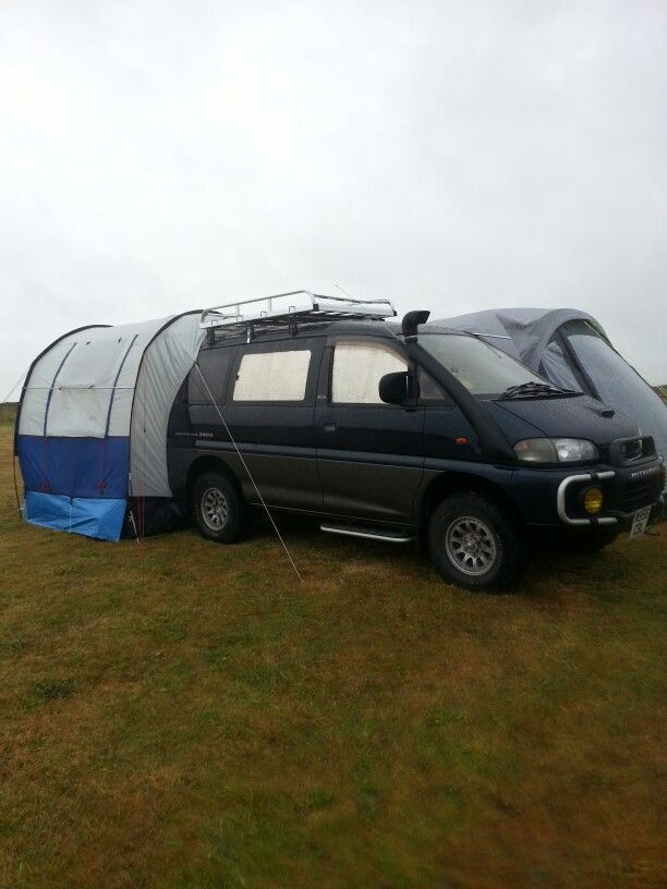 My Delica Cornwall Camping