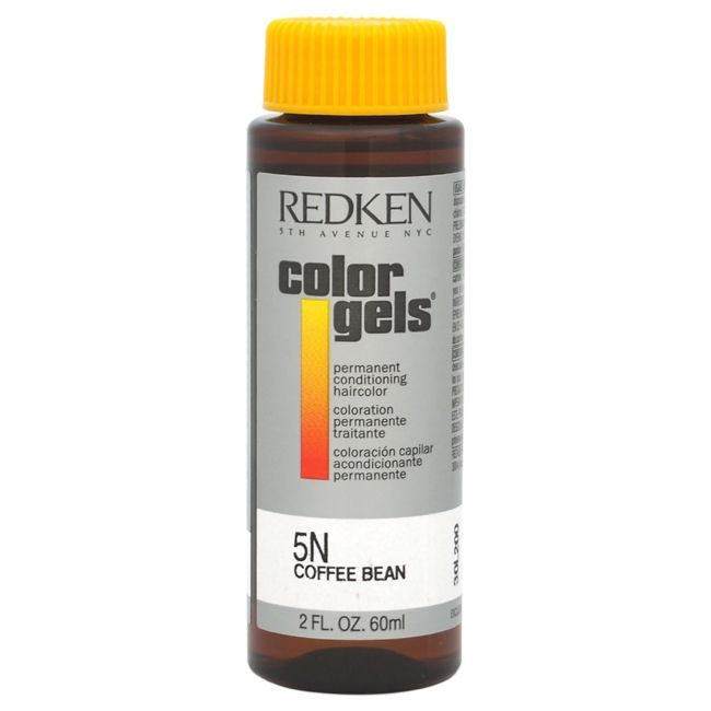 Redken Color Gels Permanent Conditioning Haircolor 5N Coffee Bean 2-ounce Hair Color