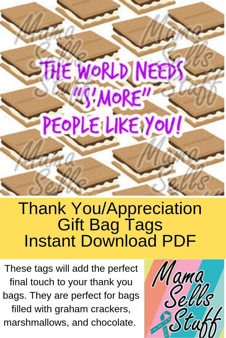 Photo of World Needs S'more People Like Thank you card for goodie or gift bag, Vacation Bible School, Volunteer, Helpers, Appreciation, VBS, Teacher