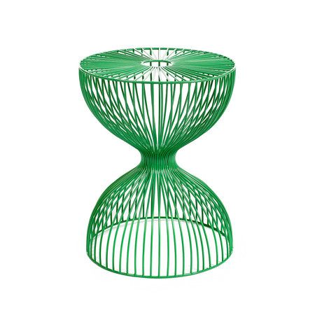 Pols Potten - Wire Dumbbell Stool - Green