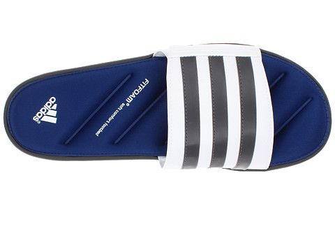 análisis dedo herida  adidas Zeitfrei FitFOAM™ Slide Black/Tech Grey/Running White - Zappos.com  Free Shipping BOTH Ways | Adidas, Black, Zappos