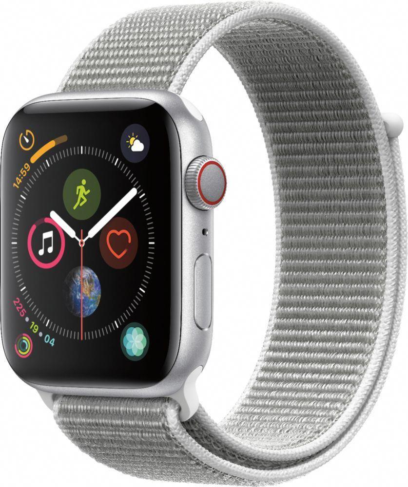Apple Apple Watch Series 4 (GPS + Cellular) 44mm Silver