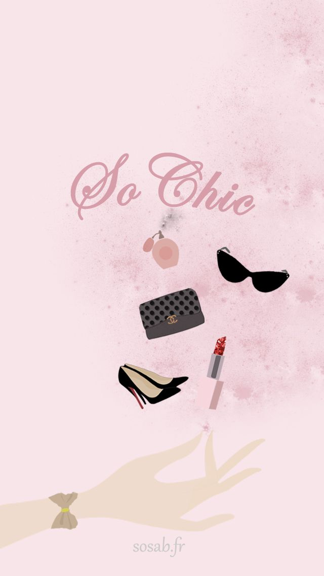 Dior Chic Pink Iphone Wallpaper Panpins Iphone Wallpapers Pinterest Pink Iphone