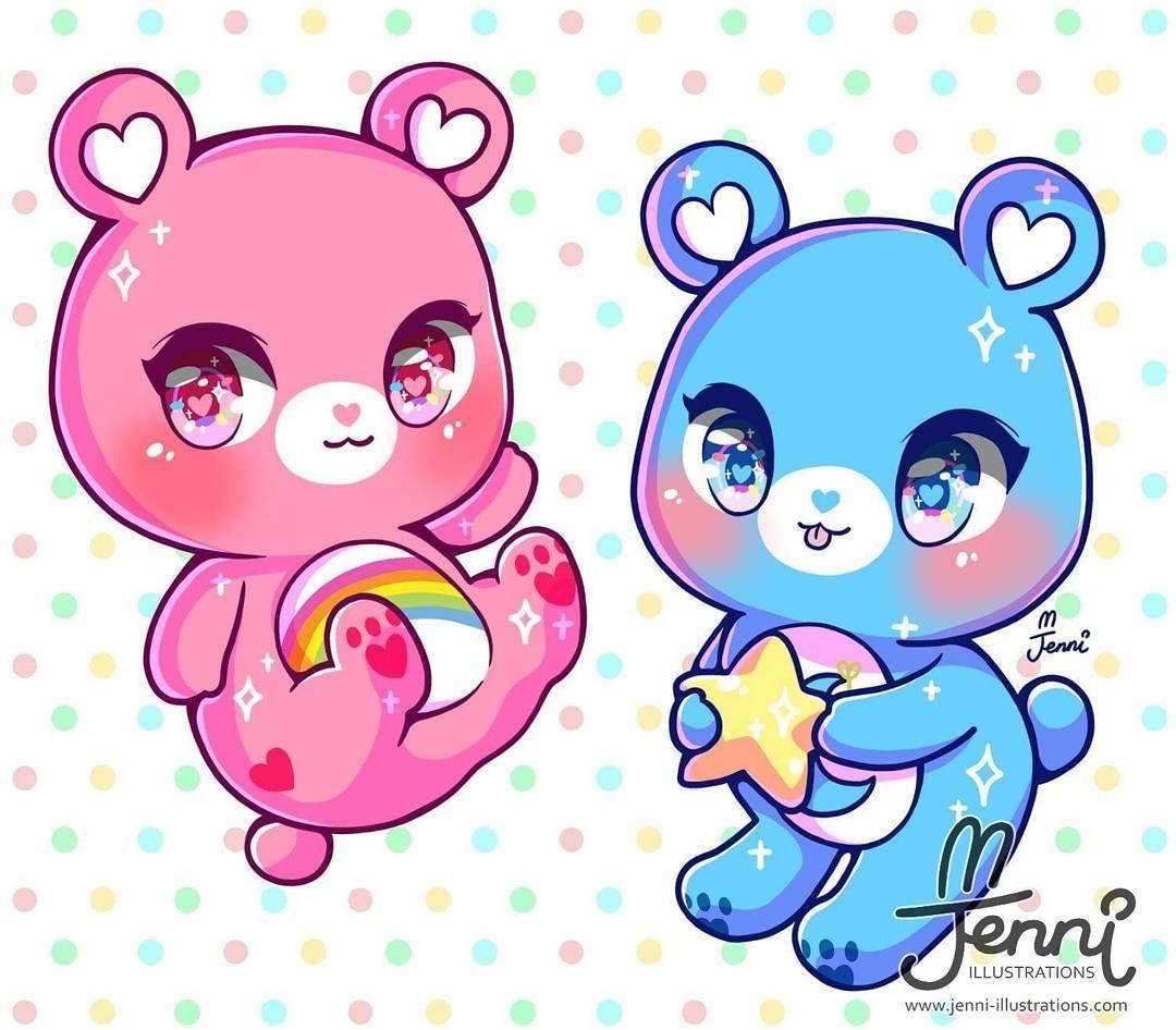 Care Bears Wallpaper: Kawaii Drawings, Kawaii Art