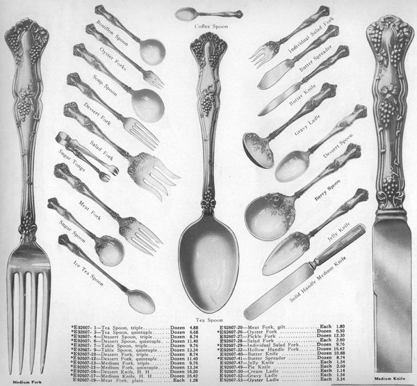 Vintage By 1847 Rogers Magazine Ad Flatware Patterns Vintage Silverware Patterns Vintage Flatware