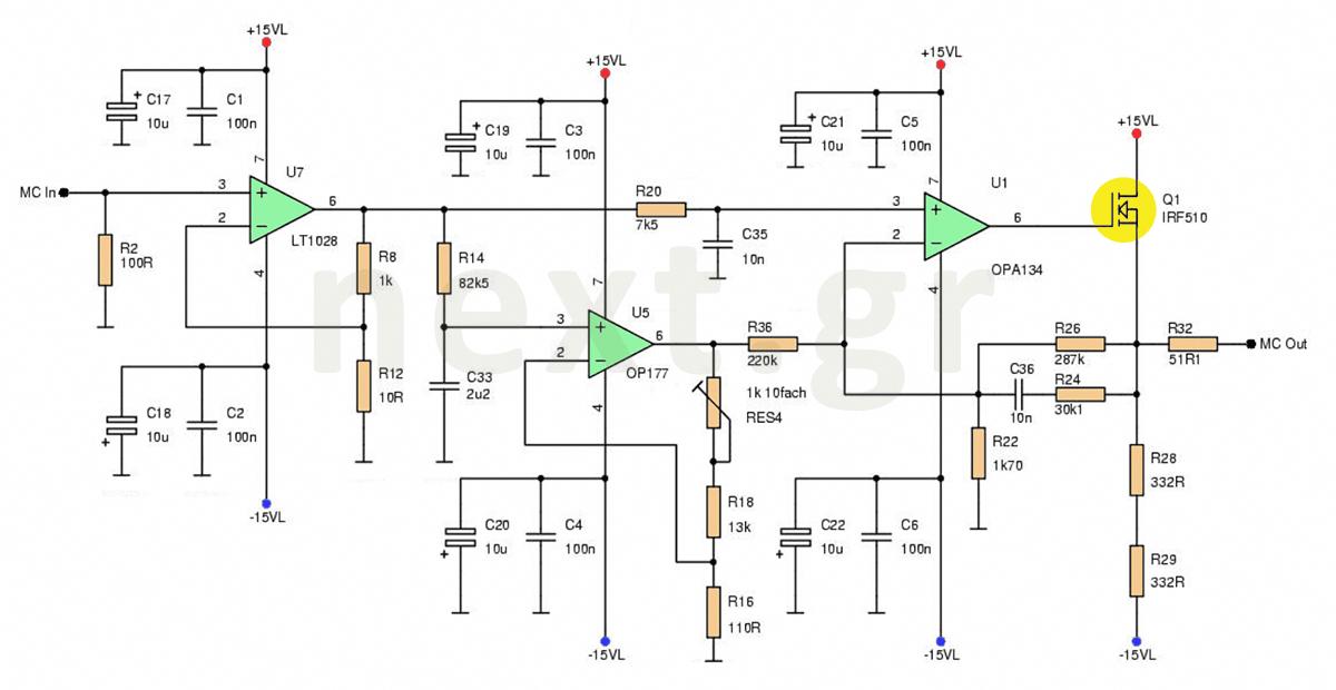Hi Fi Microphone Preamplifier Circuit Schematic Sophisticated Microphone Hifi Circuit