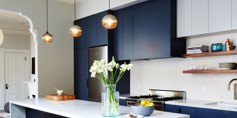 10 kitchen cabinet color combinations you ll actually want to commit to in 2020 kitchen on kitchen cabinets color combination id=32834