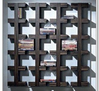 Wonderful 15+ Unique Stylish CD And DVD Storage Ideas