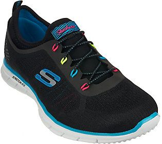 Skechers Go Walk 3 Printed Lace Up Sneakers Digitize Sneakers