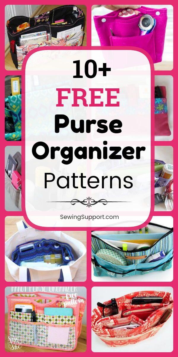 11 Free Purse Organizer Patterns