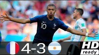 Francia vs Argentina 4-3 DirecTV Sports (Relato Pablo Giralt) Mundial Rusia 2018