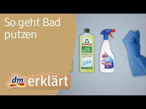Bad Putzen Wie Sie Ihr Bad Richtig Putzen Badreinigung Tipps Haushalts Tipps Richtig Putzen Und Tipps