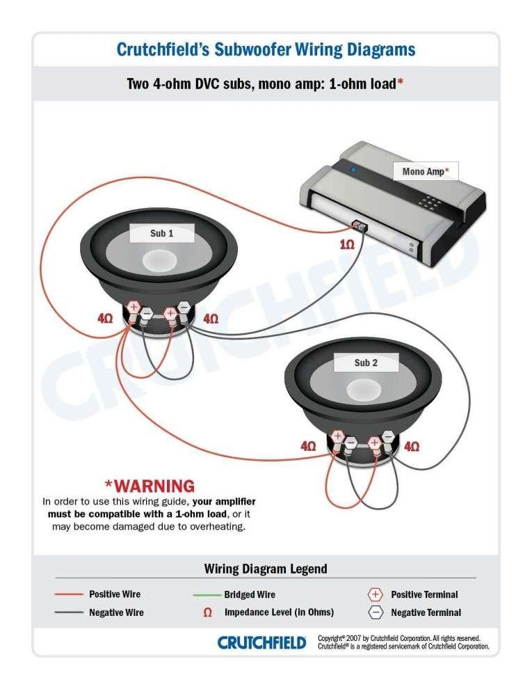 reg speaker amp kicker subwoofer wiring diagrams  a wiring