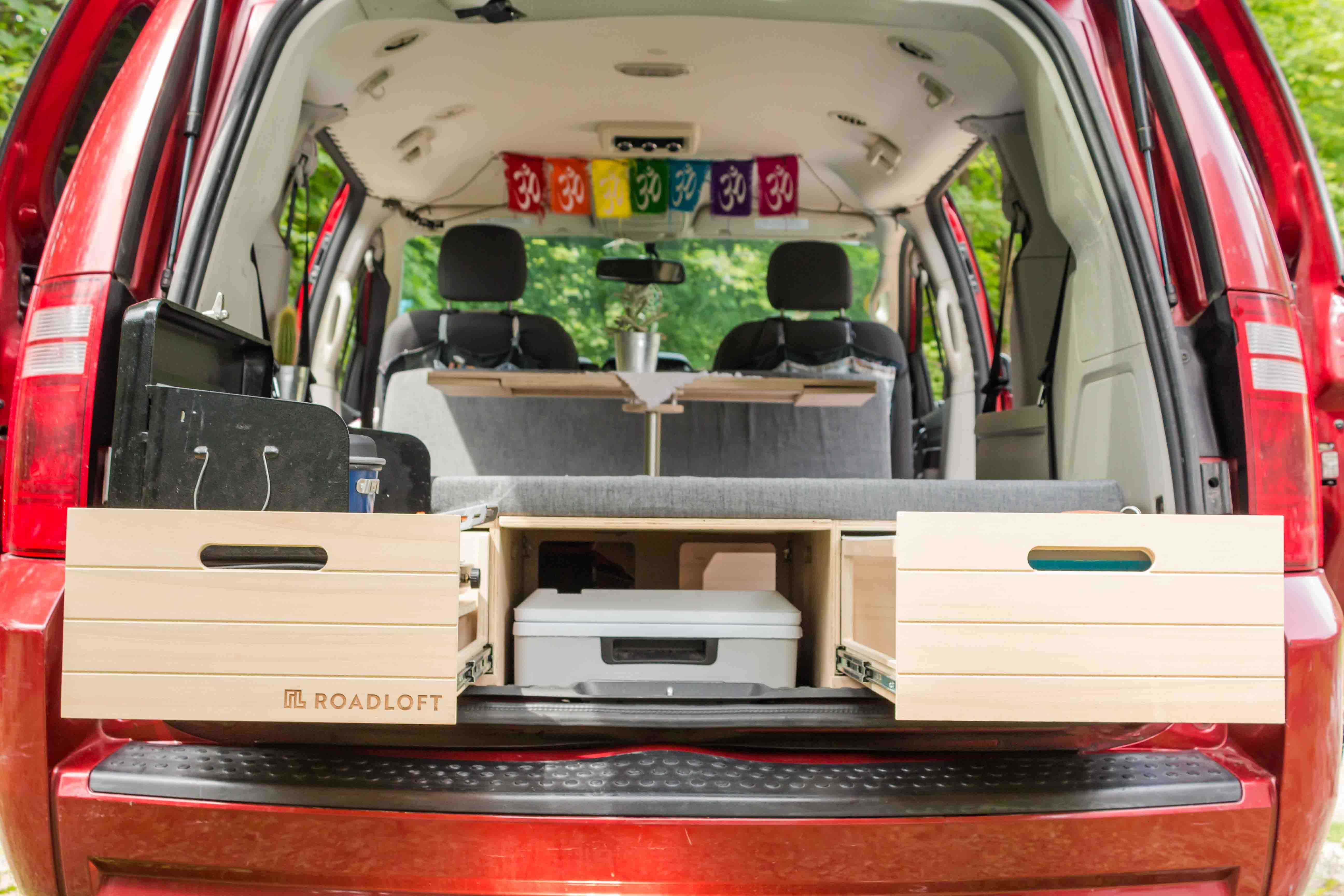 Turn your Minivan Into a Camper With the Conversion kit