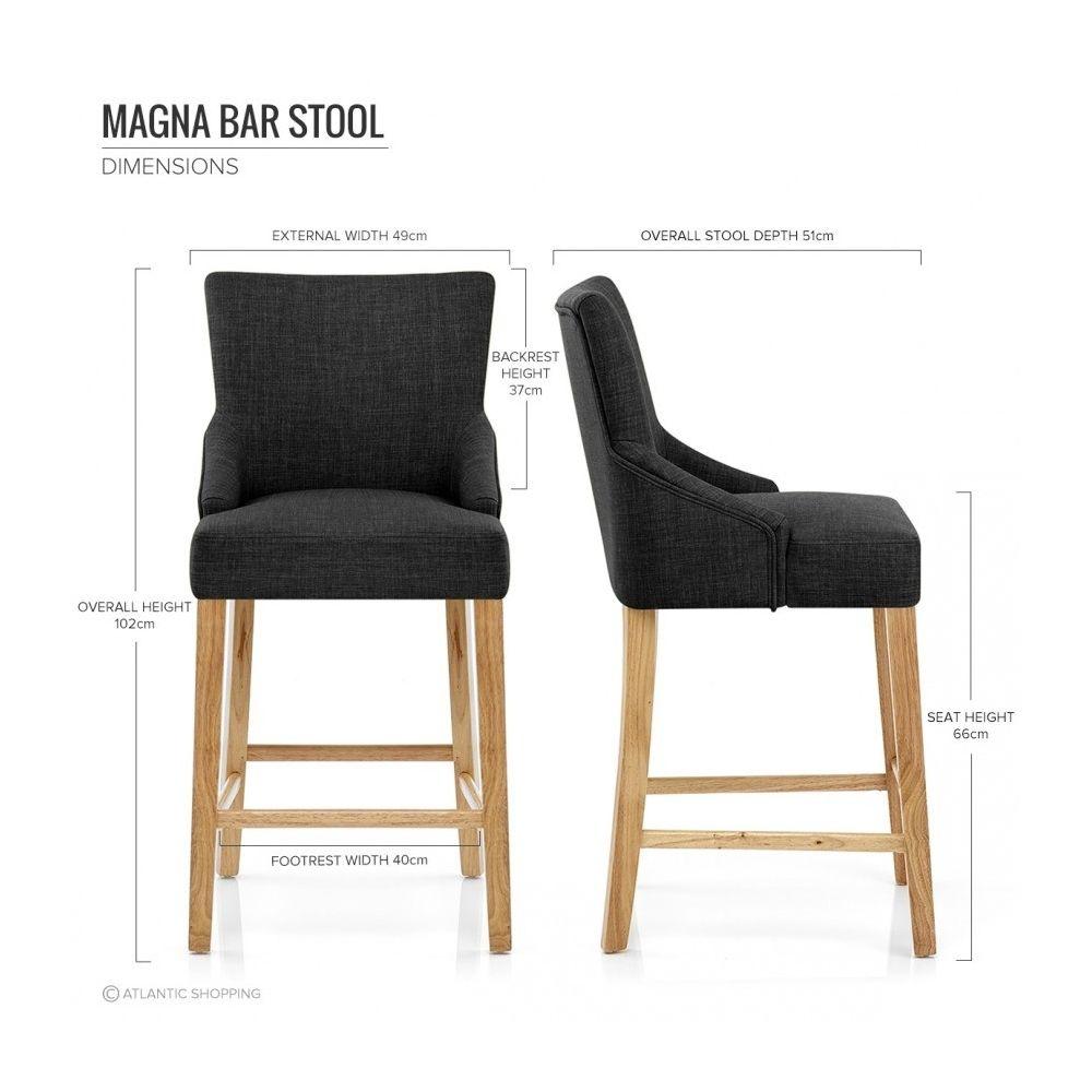 chaise de bar tissu bois magna pinteres. Black Bedroom Furniture Sets. Home Design Ideas