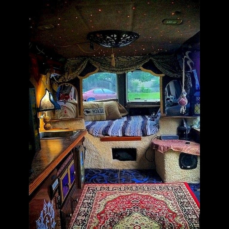 80+ Awesome DIY Camper Van Conversion for Road Trip Vacation
