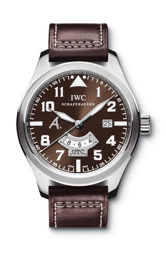 Часы IW3261-04 IWC Pilots Watches Classics Pilot`s UTC Edition Antoine de Saint Exupery