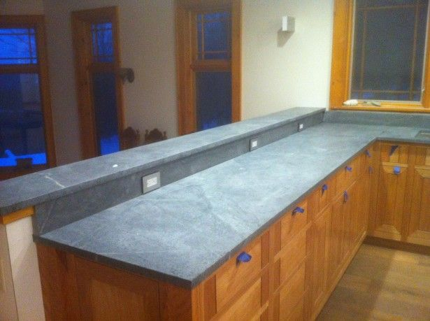 Slate Kitchen Countertop Cost 615x459 Jpg 615 459 Cost Of Kitchen Countertops Slate Countertop Soapstone Kitchen