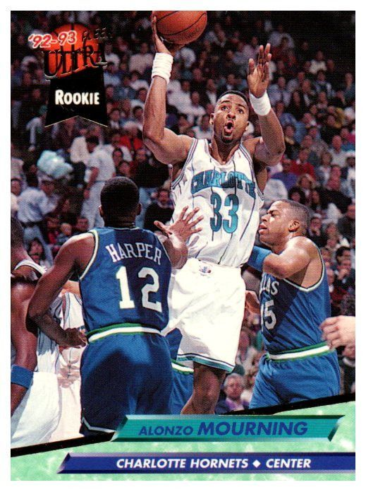Buy 1992 93 Fleer Ultra Alonzo Mourning Rookie Card