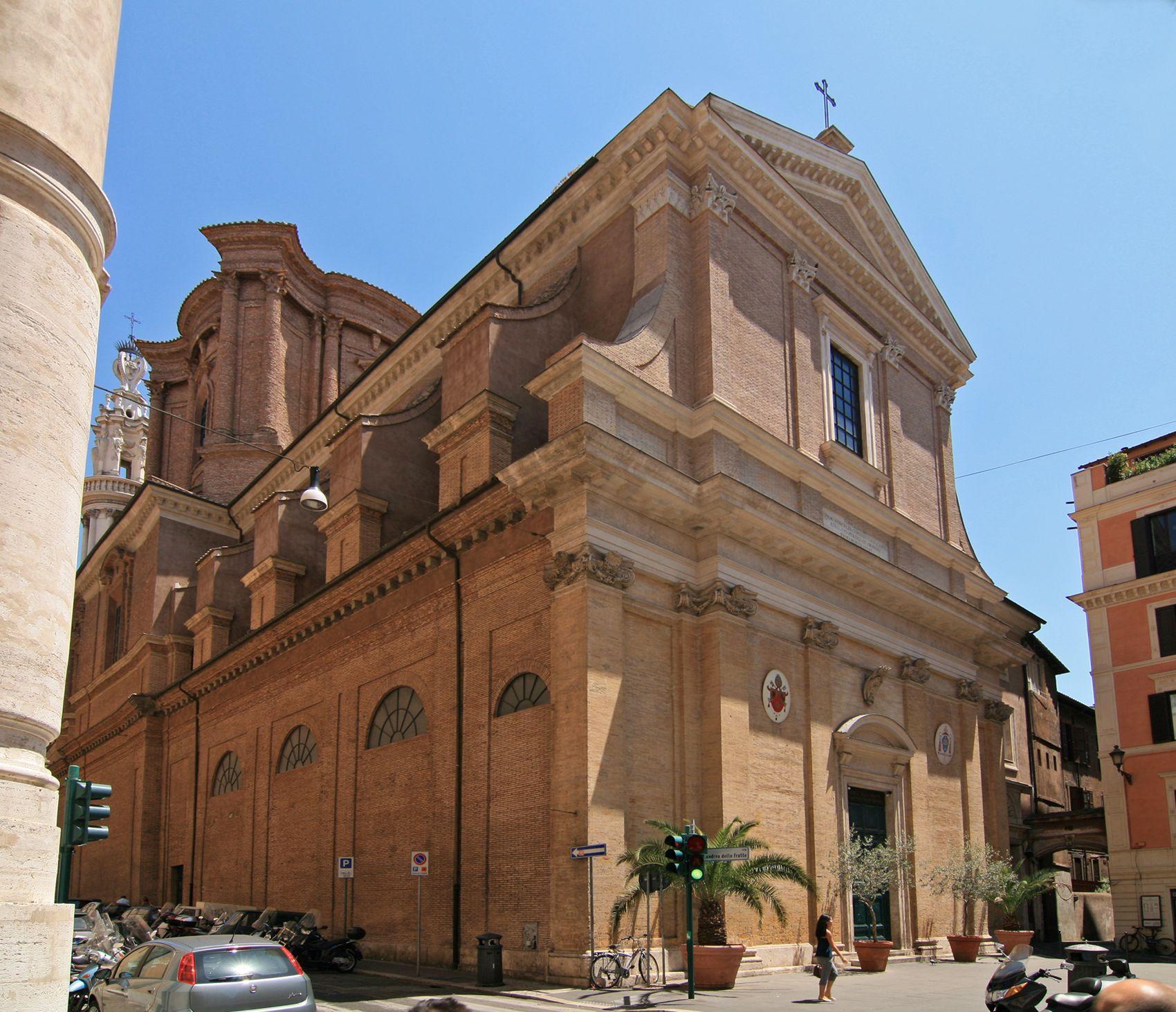 Basilica Di Sant Andrea Delle Fratte Roma Rome Sant Andrea Web Gallery Of Art