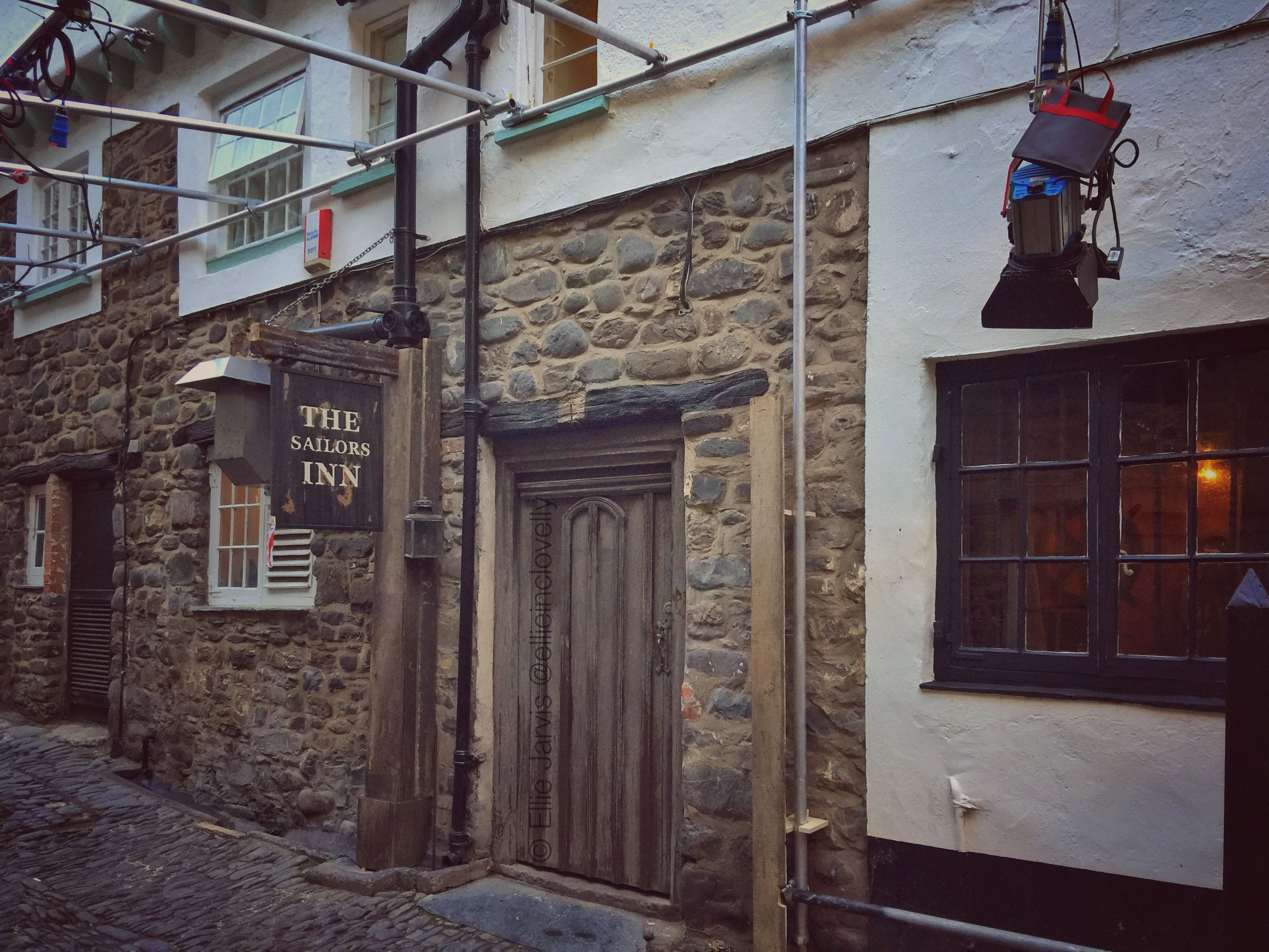 The Sailors Inn! The crew adapted our local pub for filming