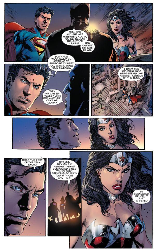 Woman relationship wonder superman Romantic relationships