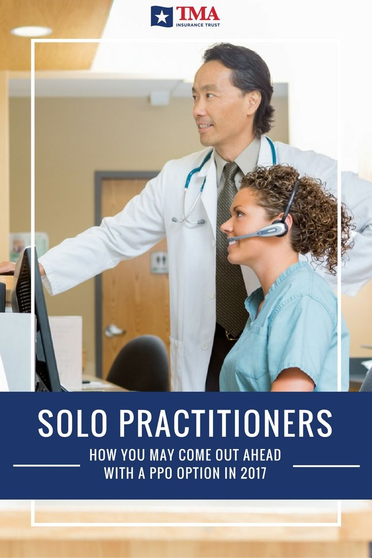 How Solo Practitioners Can Come Out Ahead With a PPO ...