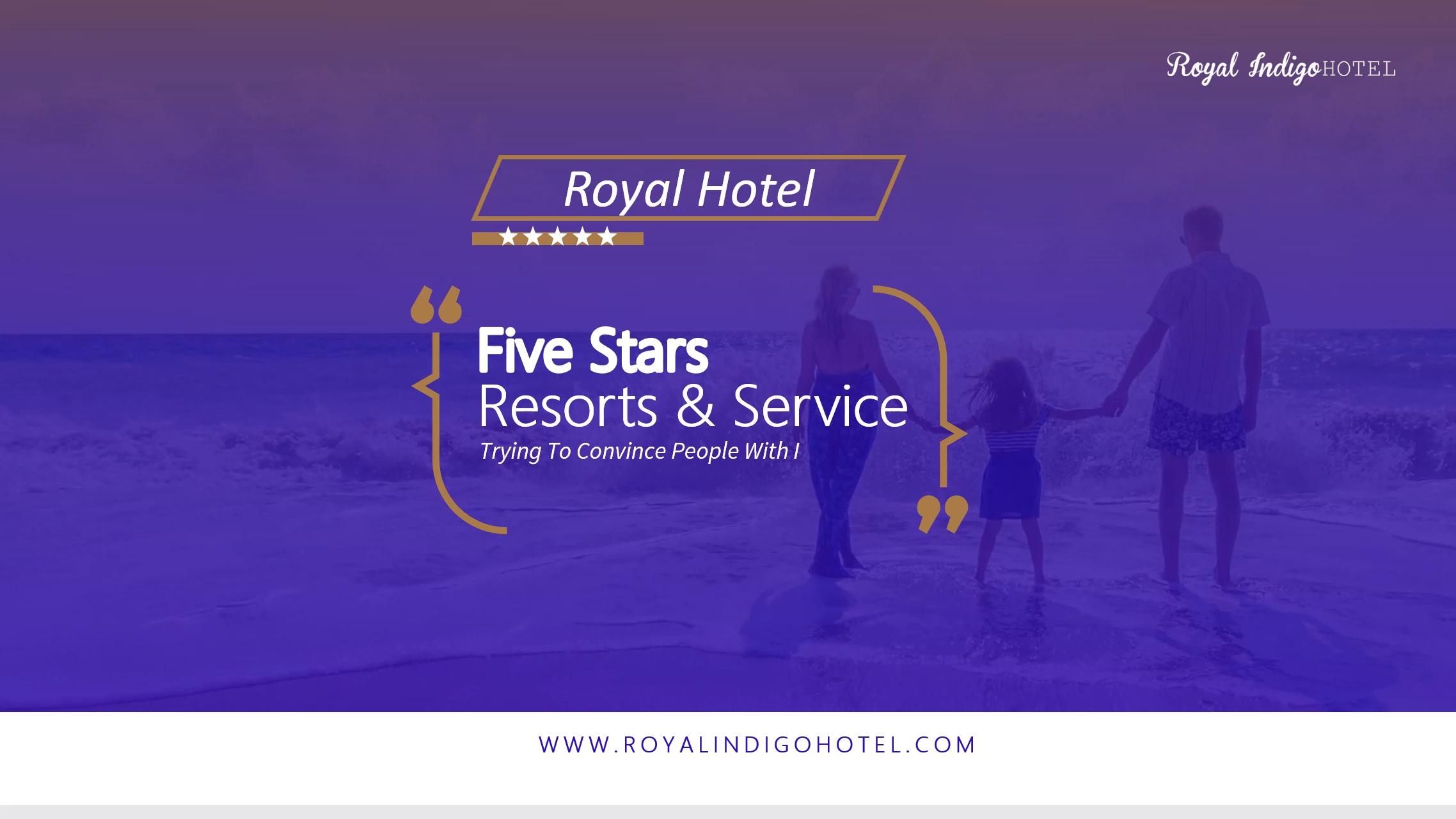 Digital Signage Template for Hotels