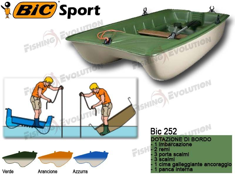 Who knew BIC made boats as well as ink pens