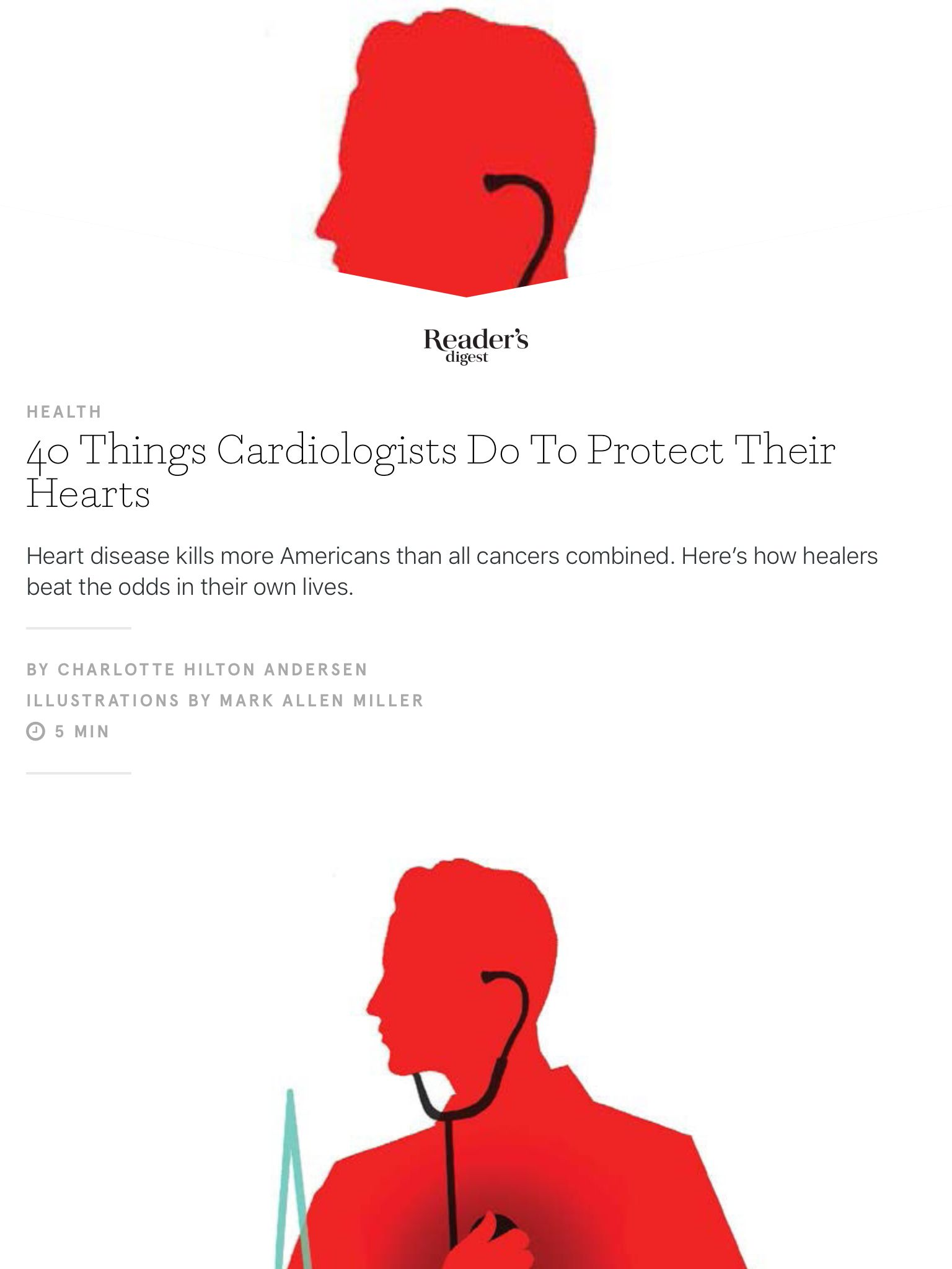 """40 Things Cardiologists Do To Protect Their Hearts"" from"