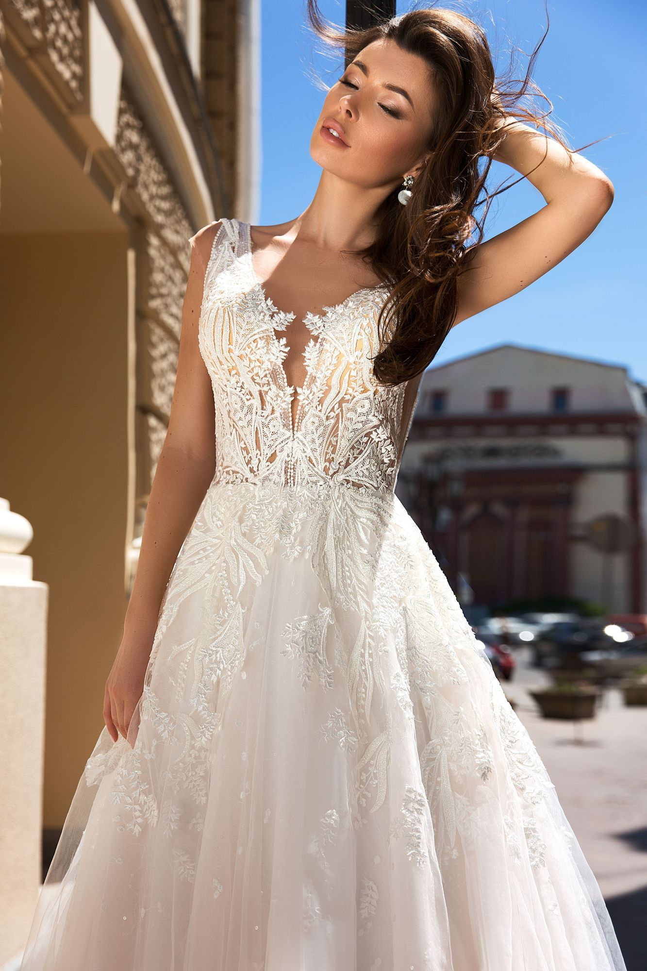 Elegant A Line Wedding Dress From Jacqueline S Bridal Near Boston Ma Jacqueline Sbridal Weddingd Wedding Dresses A Line Wedding Dress Wedding Dress Couture