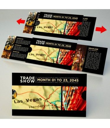 Great Idea For A Trade Show Invitation Upload Your Photos Logo And
