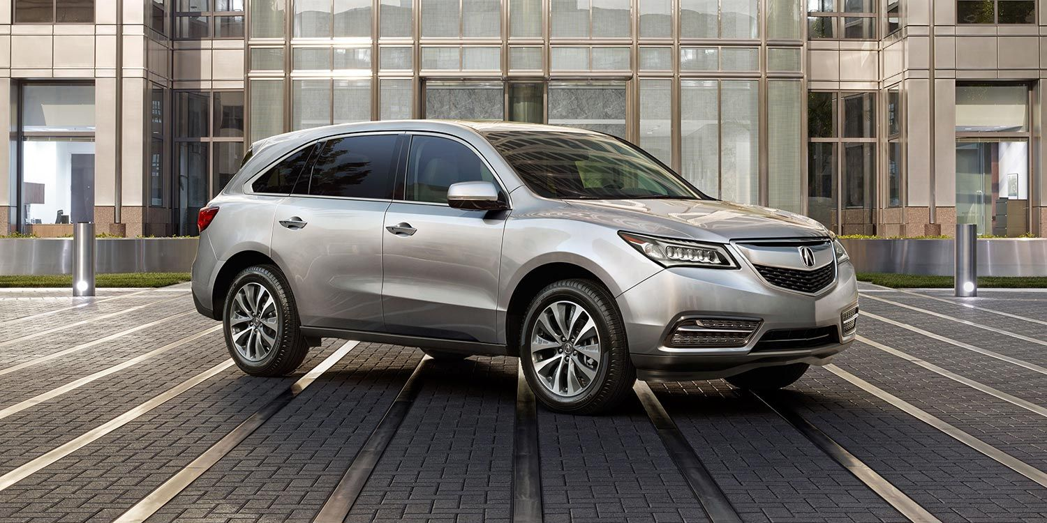 2014 Acura Mdx With Technology Package In Silver Moon Acura Com