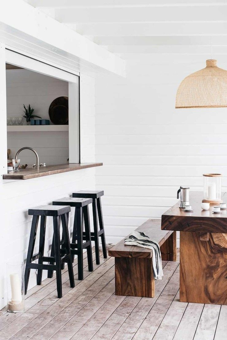 Kitchen window from outside  villa palmier  st barts  by kate holstein   o u t s i d e