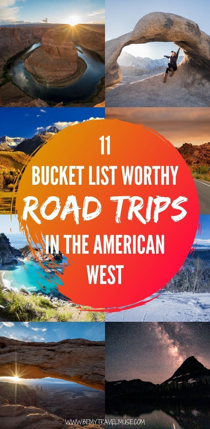 The Best Road Trips in the American West - Be My Travel Muse -  11 bucket list worthy road trips in the American West you NEED to go, spanning across California, N - #american #BudgetTravel #CultureTravel #Muse #Road #RoadTrips #travel #TravelTips #trips #West