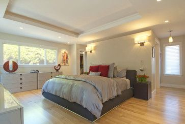 Walk In Closet Behind The Bed Design Ideas Pictures