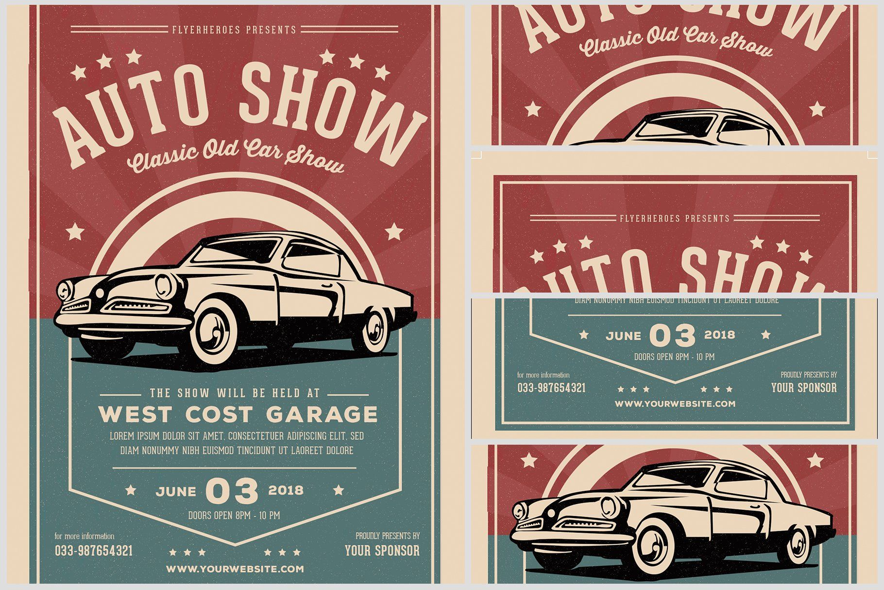 Old Classic Car Show Flyer Template Classic Car Show Old Classic Cars Car Show Car show flyer template free